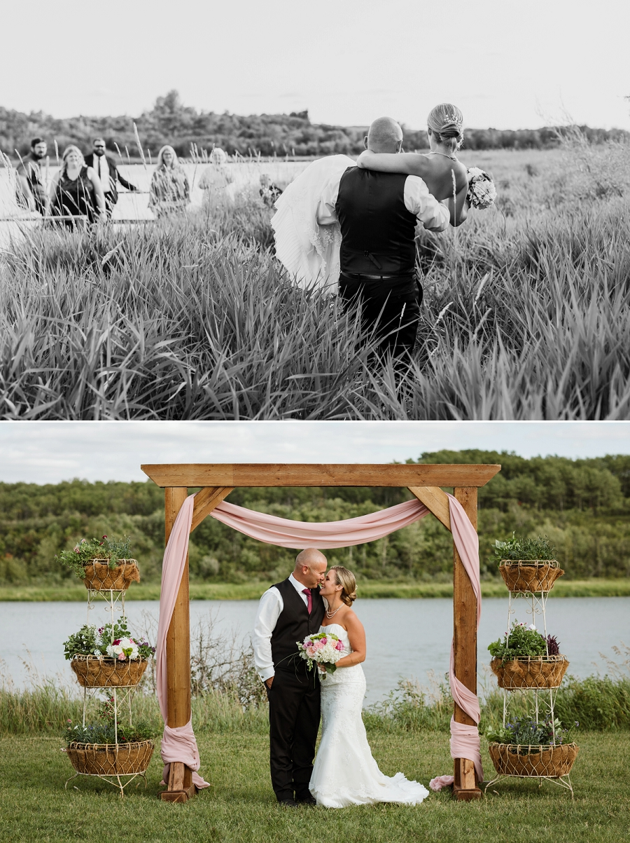 intimate saskatchewan weddings and elopements