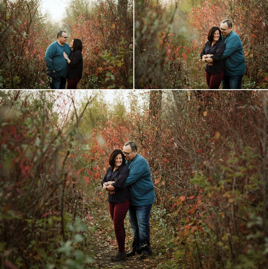 autumn engagement pictures in saskatchewan