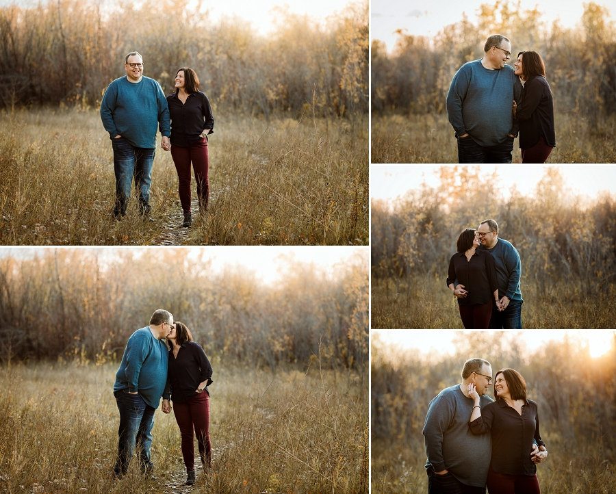 fall engagement pictures in saskatoon