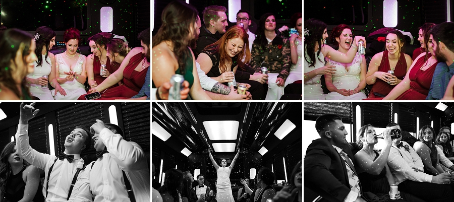 regina party bus for weddings