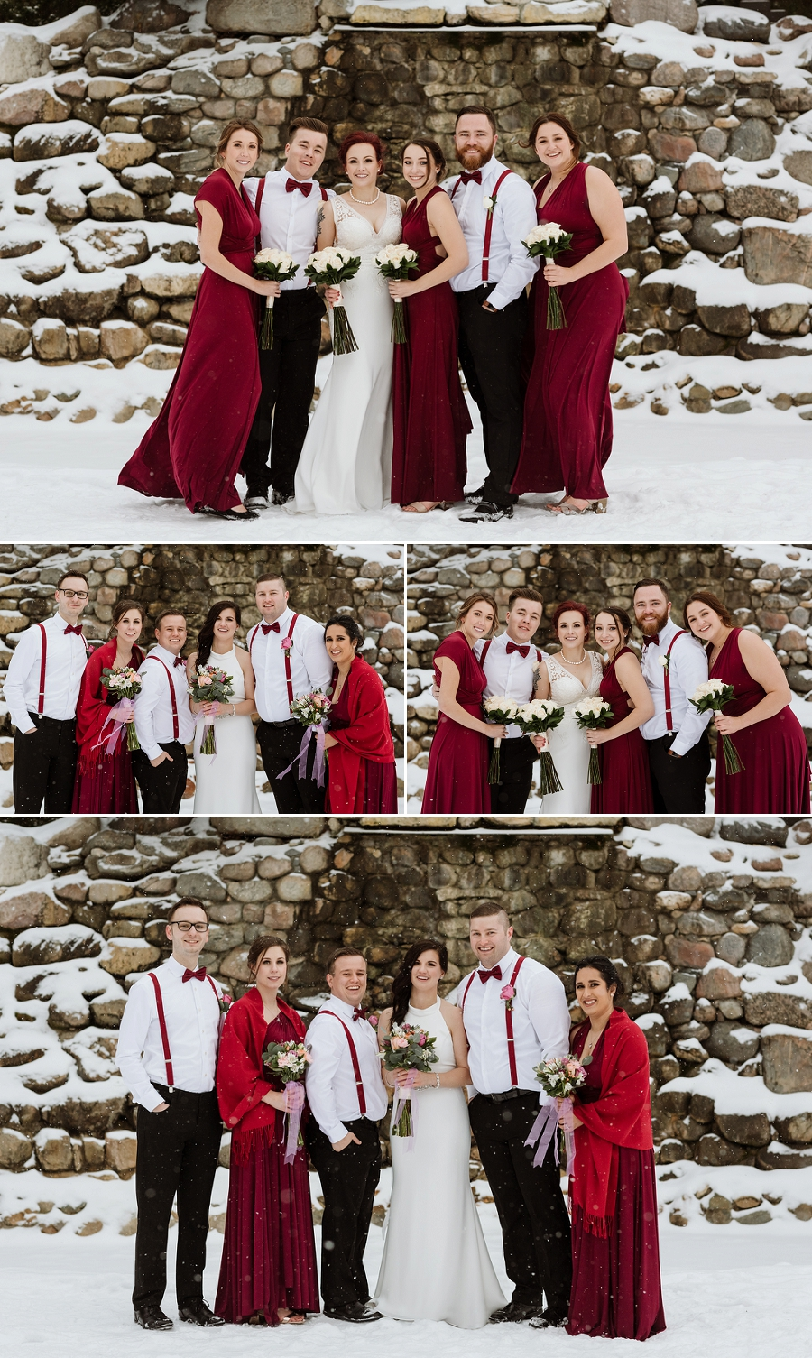mixed gender wedding party for same sex wedding