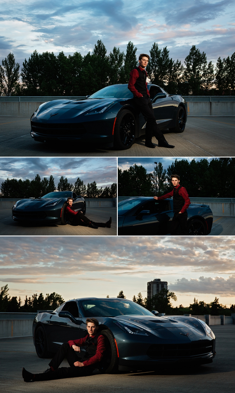 saskatoon grad portraits with cars 2019 corvette stingray