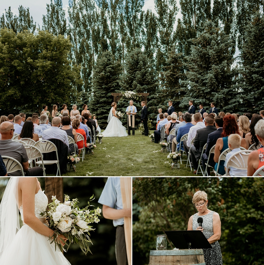 acreage wedding