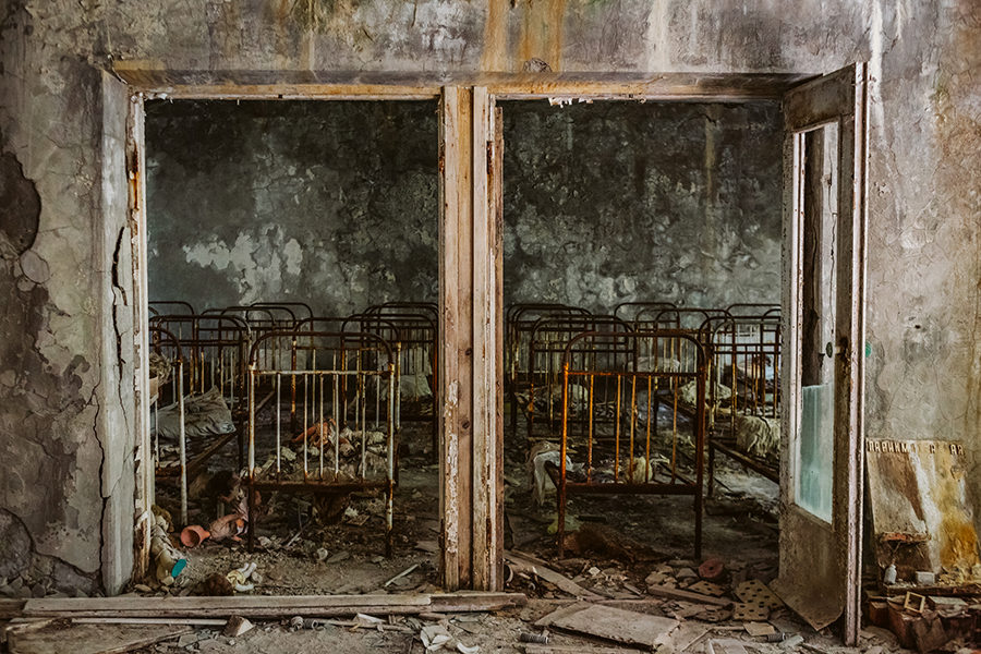 photos of chernobyl exclusion zone