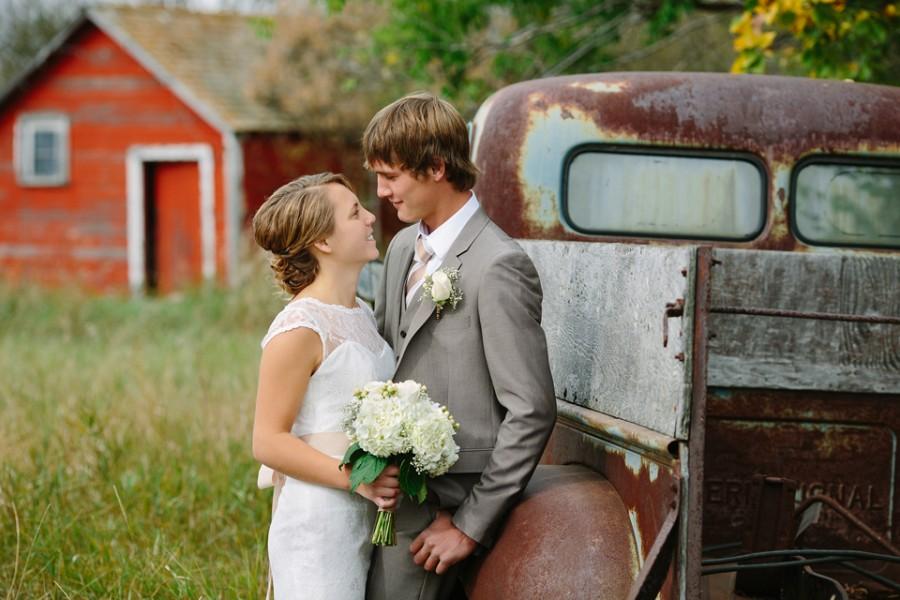 Outlook farm wedding