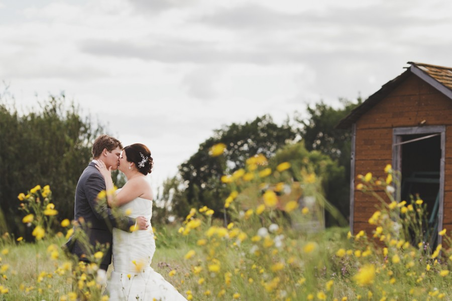 Abandoned farm wedding photos