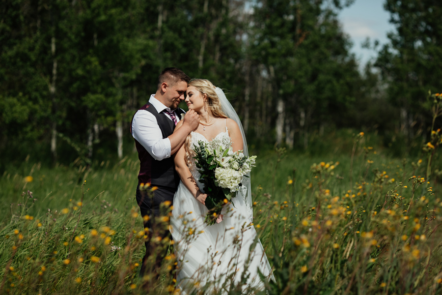 saskatoon intimate backyard wedding