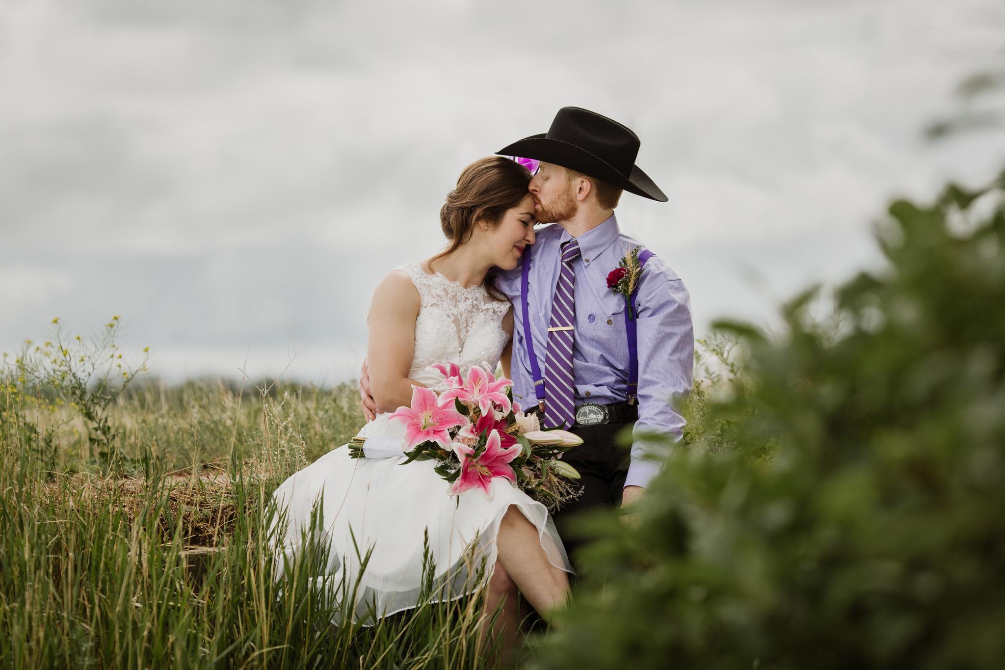 farm wedding in saskatchewan